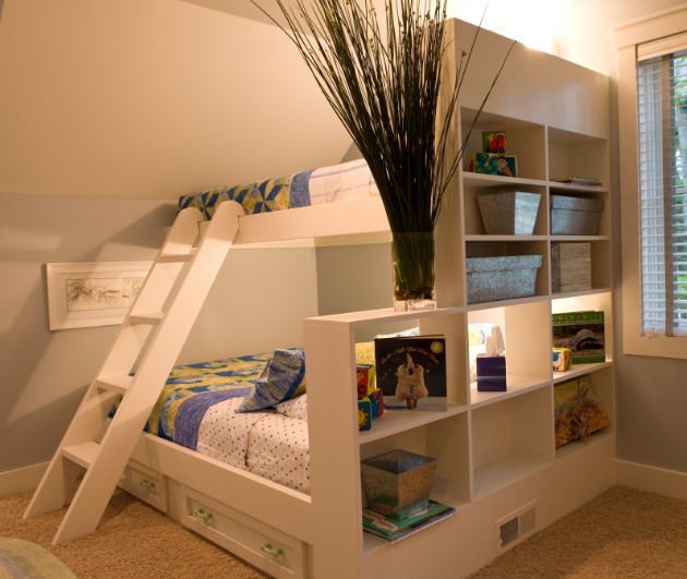 двухъярусная кровать-шкаф 1