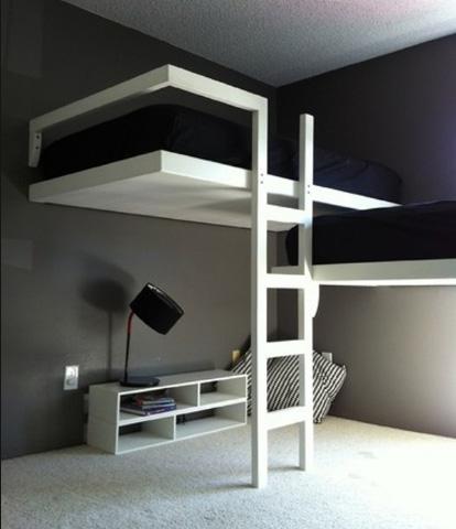 двухъярусная кровать два уровня