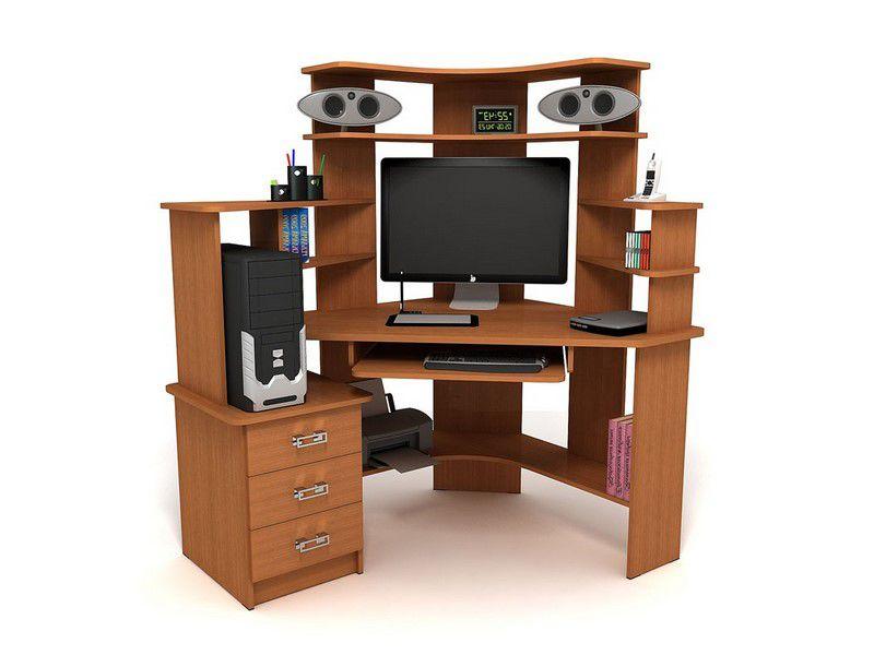 Компьютерные столы на заказ в уфе - угловые, маленькие, с ящ.