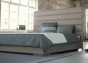 Кровать с мягким изголовьем геометрические фигуры 3