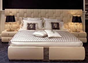 Нестандартные формы в дизайне спинки кровати 1