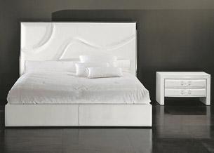 Нестандартные формы в дизайне спинки кровати 3