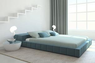 Кровать с мягким изголовьем 3