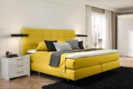 Кровать с мягким изголовьем 5
