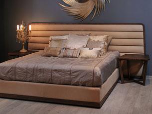 Комбинированный стиль изголовья кровати 4