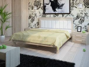 Комбинированный стиль изголовья кровати 5