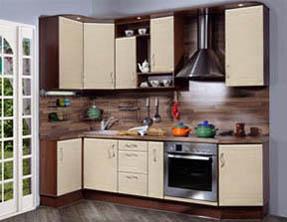 кухня с фасадом эконом 2