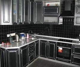 кухня с фасадом элит
