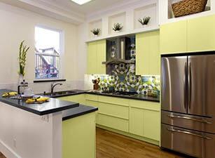 кухня с островом проект 012