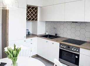 кухня современная проект 083