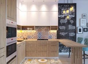 угловая кухня 126а