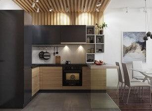 угловая кухня 130а