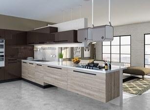 угловая кухня 203а