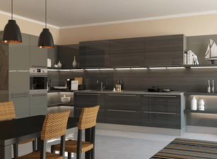 угловая кухня 215а