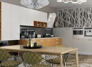 угловая кухня 227а