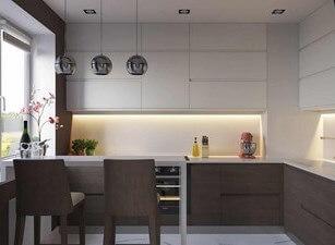 угловая кухня 229а