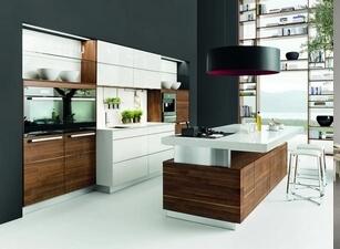 кухня с островом 007а