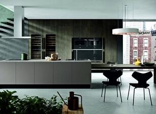 кухня с островом 009а