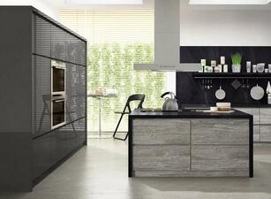 кухня с островом 012а