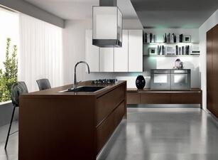 кухня с островом 015а