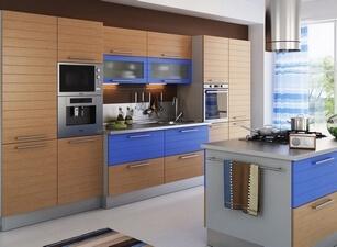 кухня с островом 120а