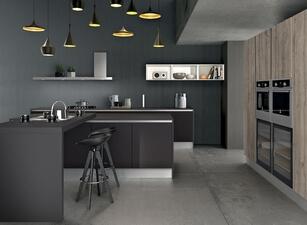 кухня с островом 123а