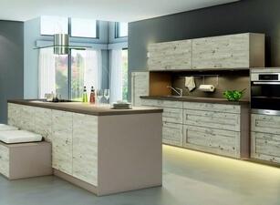 кухня с островом 138а