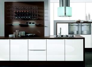 кухня с островом 140а