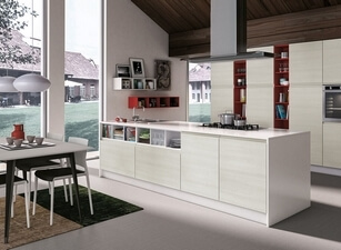 кухня с островом 143а