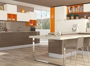 кухня с островом 153а