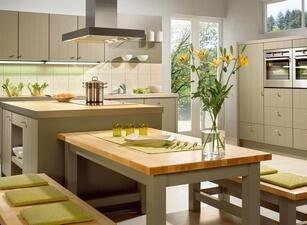 кухня с островом 157а