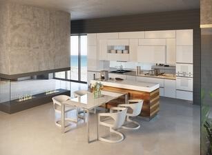 кухня с островом а