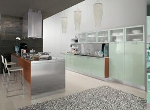 кухня с островом 162а
