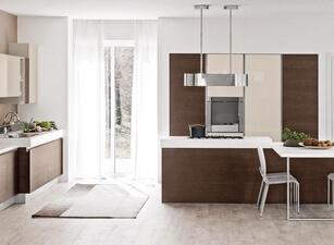 кухня с островом 165а