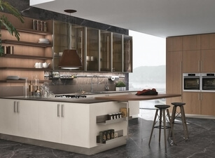 кухня с островом 167а