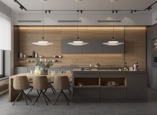 кухня с островом 181а