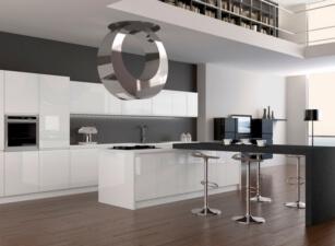 кухня хайтек 001а