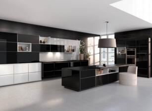 кухня хайтек 015а