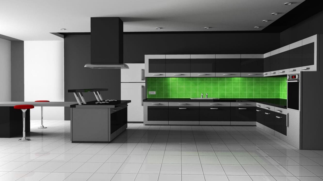 Картинки кухни без мебели