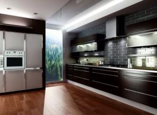 кухня хайтек 043а