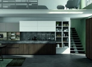 кухня хайтек 046а
