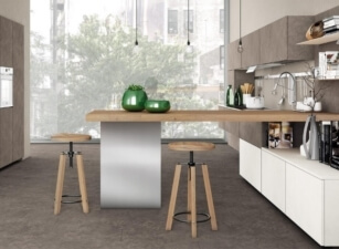кухня хайтек 055а