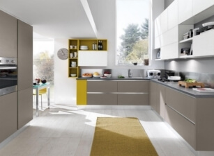 кухня хайтек 067а