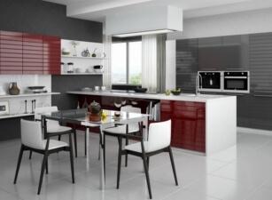 кухня хайтек 076а