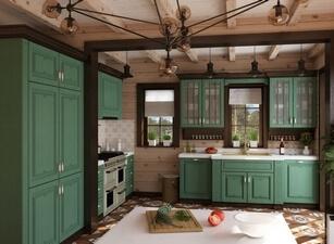 кухня классическая 195а