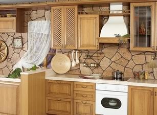 кухня классическая 197а