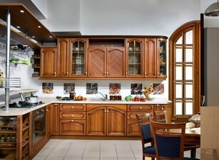 кухня классическая 203а