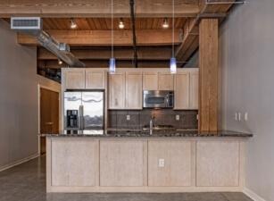 кухня лофт 001а
