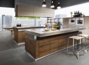 кухня лофт 007а