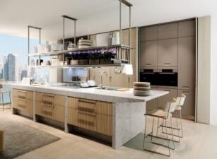 кухня лофт 016а